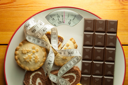 New year January diet concept photo