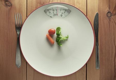 plato de comida: Dieta concepto