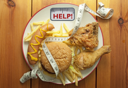 calory: Diet weight loss concept