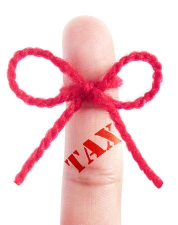 financial audit: Tax reminder