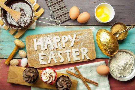 Happy easter baking Stock Photo