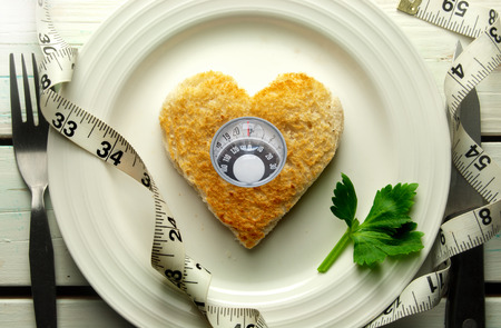 weight control: Diet weight loss concept