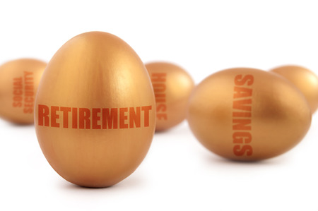 retirement nest egg: Retirement golden nest eggs