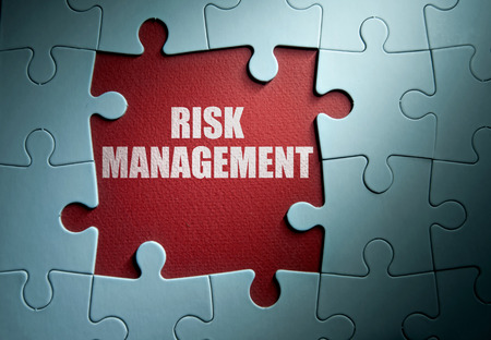 financial risk: Risk management Stock Photo