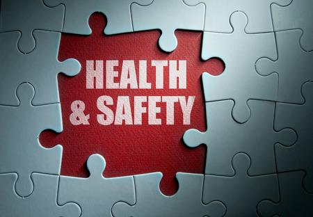 seguridad e higiene: Salud y seguridad Foto de archivo