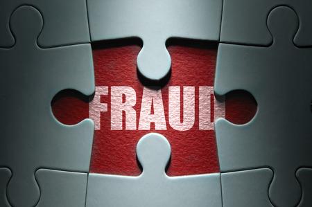 investigación: Fraude concepto Foto de archivo
