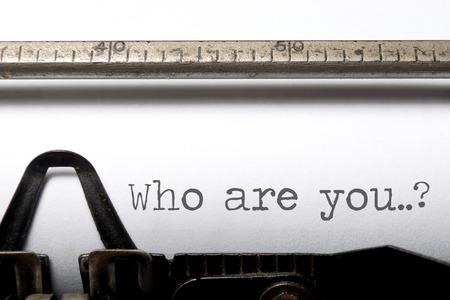 personalidad: Quién es usted