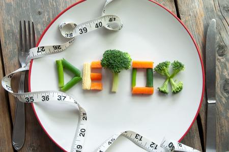 Detox-Diät Standard-Bild