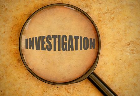 criminal investigation: Investigation
