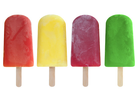 Ice lollies Reklamní fotografie