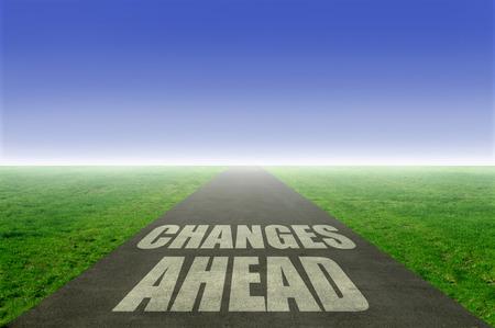 Veranderingen vooruit