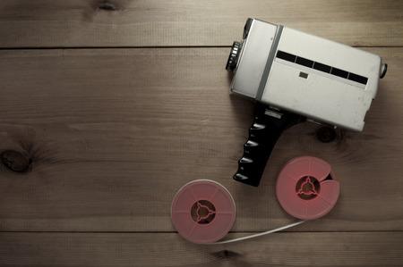 Movie making concept background