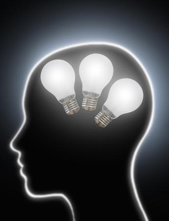 creativity: Human creativity ideas Stock Photo