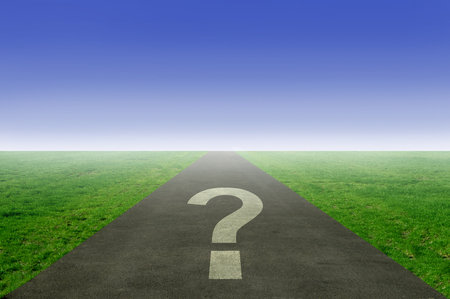 疑問符道路