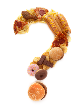 junks: Junk food question mark