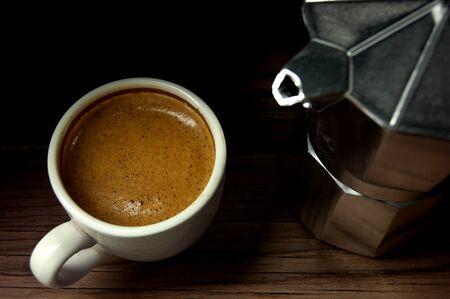 coffee machines: Freshly made Italian espresso coffee