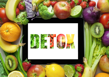 weight loss plan: Detox Stock Photo