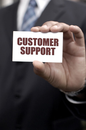 customer support: Customer support