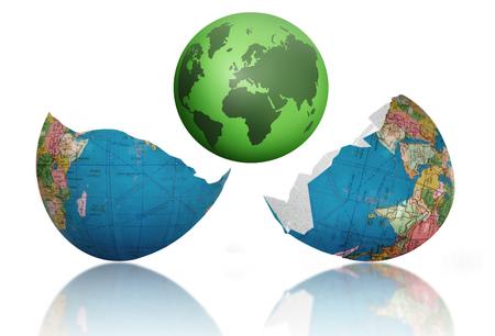 New world Stock Photo