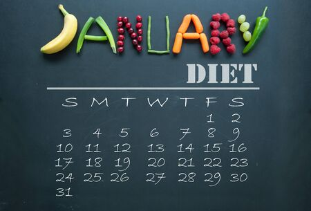 weight loss plan: January diet