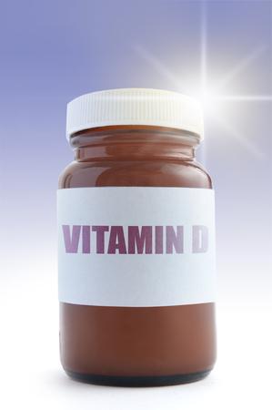 vitamins: Vitamin D concept