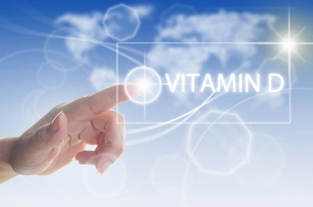La vitamine D concept Banque d'images