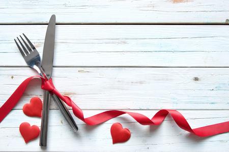 recipes: Valentines day background Stock Photo