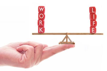 Work-Life-Balance-Konzept Standard-Bild
