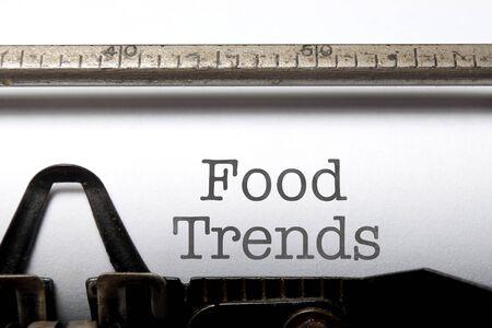 trends: Food trends