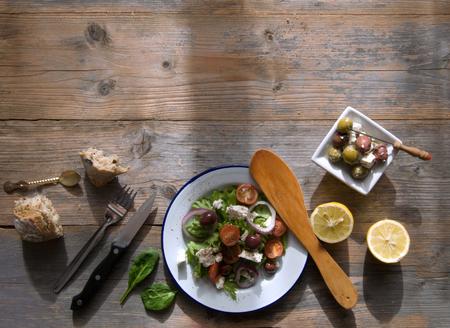 Grieks eten achtergrond