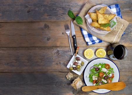 ギリシャ料理の背景