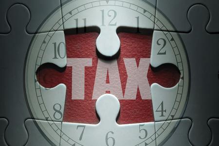 deadline: Tax deadline concept