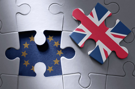 yes or no to euro: Brexit concept