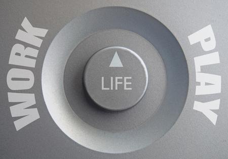 inbetween: Life dial inbetween work and play choices