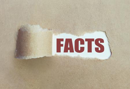 Blootleggen van de feiten