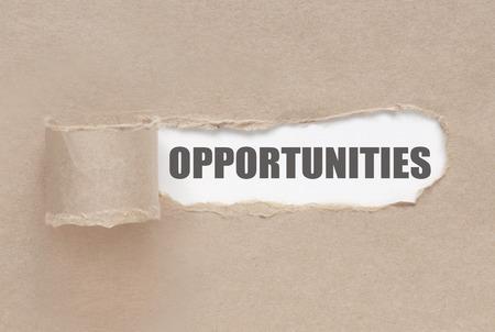 Scoprire le opportunità