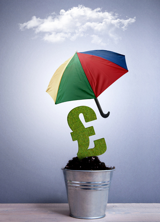 brolly: British pound sterling protection concept