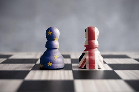 Brexit strategie concept Stockfoto