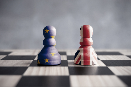 Brexit strategy concept