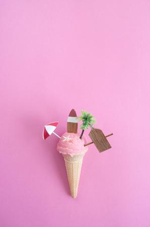 Summer ice cream cone