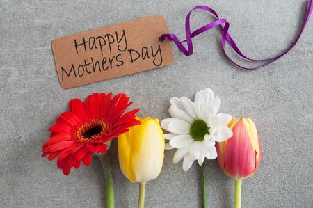 Mothers day assorted spring flowers Standard-Bild - 119056731