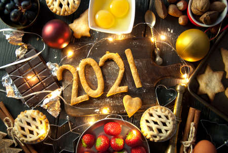 Happy 2021 christmas baking