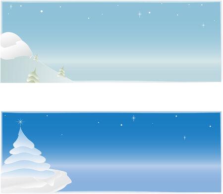 Holiday Scene Ilustração