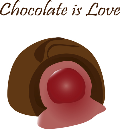 Chocolate covered cherry love