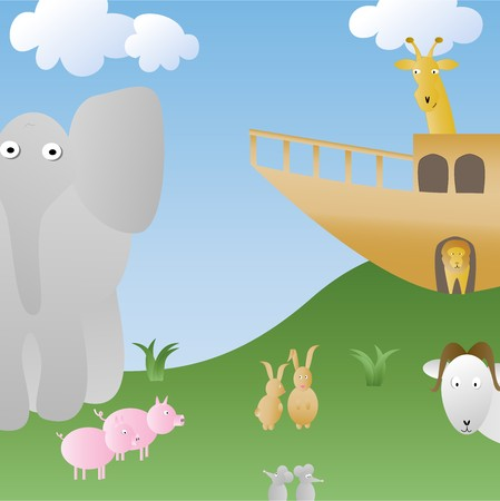 Whimsical Noahs Ark
