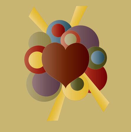 Retro Heart Design