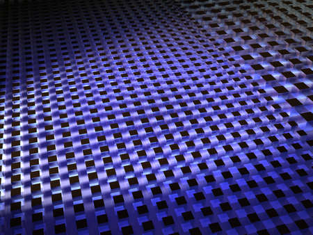 shifting: 3D Render - Background - Spotlight On Shifting Cubes Stock Photo