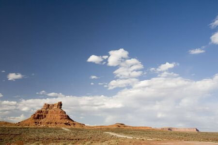 A hill in Valley of the Gods, Utah