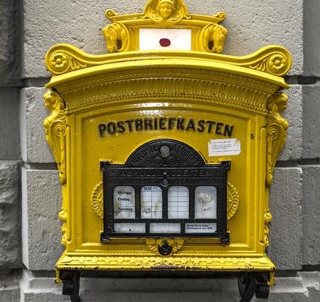 letterbox Stock Photo - 75599908
