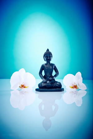 aukana buddha: Wellness and Spa Image, works perfect for advertising Health and Beauty, Spirituality or Massage